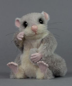 Midge the Edible Dormouse by LisaAP