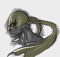 Iron Fist Sketch by R62