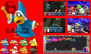 Kamek Super Smash Bros Moveset by Hyrule64