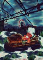 Halloween Contest : Haunted Chernobyl Fair by TianaSama