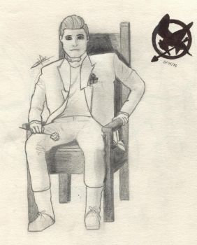 Peeta Mellark by Esther24