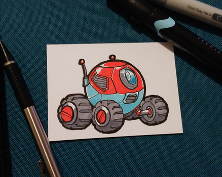 March of Robots 3-3 Wheels by Russell-LeCroy