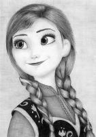Anna from Frozen by AnnaSulikowska