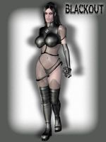 Blackout pinup by Doctor-Robo