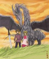 Gedo Senki (Tales from Earthsea) by ncillustration