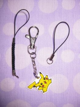 Pikachu Key Ring by opiel16