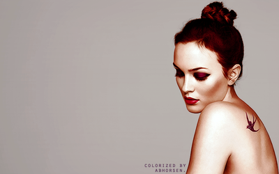 Leighton Meester Colorization by AbhorsenBranwen