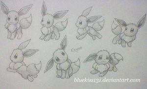 Eevee 2 by BluuKiss