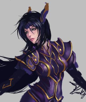 Rose - The Legend of Dragoon (WIP) by castcuraga
