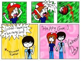 Very Late Valentines comic by Diam0ndchan