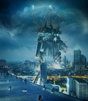 Pacific Rim_ Typhon X1 Jaeger. Singapor by Night-hawk-Tamps