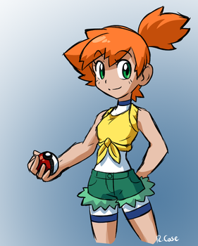 Misty Alola version by rongs1234