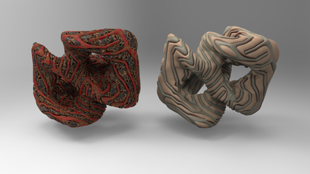 Extracted Organic Cube Twist by Tate27kh