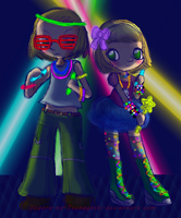 APH - Disco Pogo Swiss and Lili by NeonGalaxies