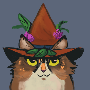 Norwegian forest witch by Teavian