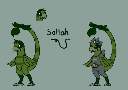 Sollah Early Concept by Snewbew