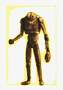 Steampunk Robot by laughinguy