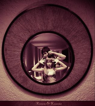 The Reflection of Two by PamEvangeline