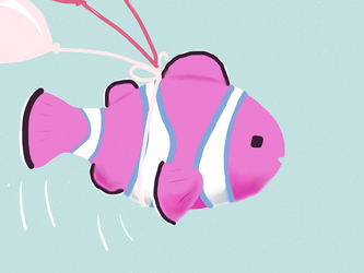 Balloon Clownfish by Skydazzle