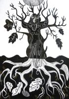 The witch tree by Oshunx