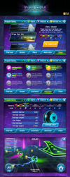 GUI/UX Neon Arena by art-notturno
