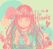 Hinata Hyuuga (color palette) by OxbowRed