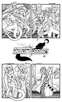 --ANIMAL WARRIORS-- by megawolf77