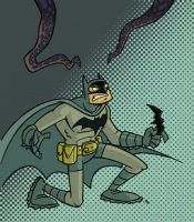 Batman and the Tentacles of Doom by tyrannus