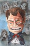 The Man of a Thousand Faces-Watercolors by jpbelow