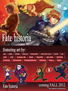 Fate/Historia postcard by eruemcee