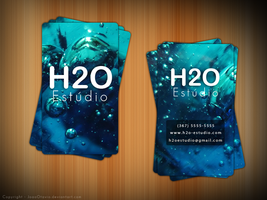 Business Card - H2O Estudio by JoaoOtavio