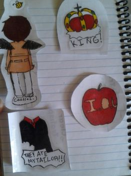 I made myself stickers yey by cross-nokuni