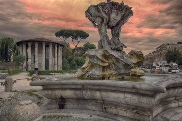 Sunset over Rome 5 by CitizenFresh