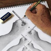 Hand Drawing by Denish-C