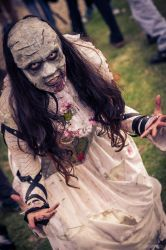 Lady Awa de Paysant - Zombie Walk Argentina 2013 by QueenNothing20