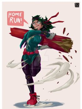 Deku Girl by dominic-barrios