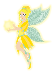 Sunny the Sunshine Fairy Redesign by ChameleonCove
