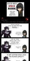 Death Note: An Apple a Day... by SilentReaper