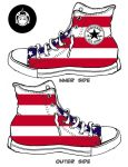 American Flag by gucksshoes
