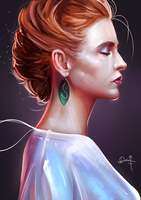 Stylized Portrait #14 by Nixri