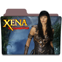 Xena Warrior Princess : TV Series Folder Icon by DYIDDO