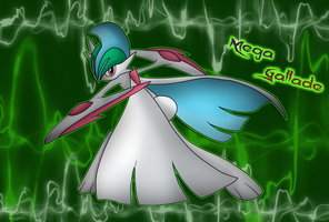Mega Gallade by LuxSharim