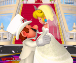 Mario X Peach: Wedding Ballroom Dance by ShadowNinjaMaster