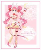 Auction 01 [OPEN] : Magical Berry Bunny by Sartika3091