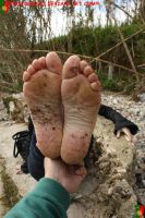 For The Lovers Of Dirty Feet 5 by Footografo