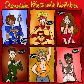 Obsessively Affectionate Adopts SOLD OUT by JonFreeman