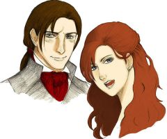 Arno and Elise by Dew-on-sandy
