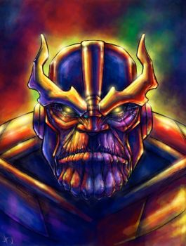 THANOS by QuinteroART