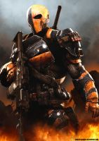 Deathstroke - Slade Wilson by ShockyTheGreat