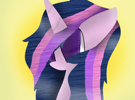 Twilight With Jades Hair by theshadowpony357